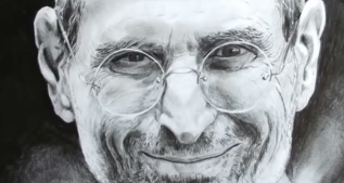 Speed Drawing Italia | Steve Jobs || SpeedDrawing