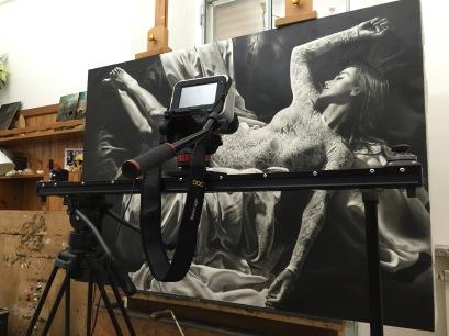 Cineslider Kessler + Blackmagic 4K